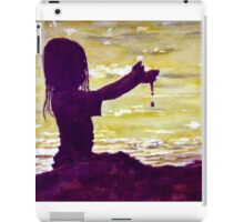 Playing in The Sand iPad Case/Skin