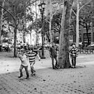 Kids Playing East Side by andykazie
