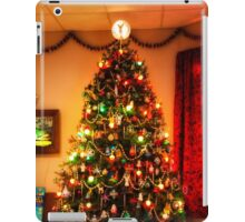 Sixties Christmas Tree Living Room iPad Case/Skin