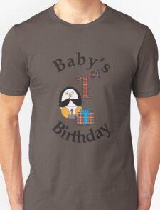Baby's 1st Birthday Penguin T-Shirt