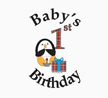 Baby's 1st Birthday Penguin Unisex T-Shirt