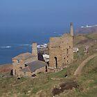 Levant Mine, Cornwall by Charlotte Stevens