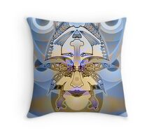 Upside-Down, Down-Side Up by L. R. Emerson II Throw Pillow