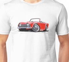 Triumph TR5 Red Unisex T-Shirt