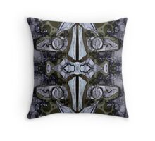 Steele Heart, Double Masg by L. R. Emerson II Throw Pillow