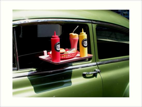 Sun tanned 1950s milkshake by patjila