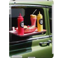 Sun tanned 1950s milkshake iPad Case/Skin