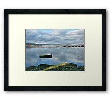The Kent Viaduct. Framed Print