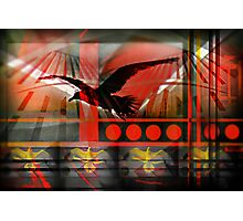 """""""Last Flight from L. A.""""  Pop Not Art by L. R. Emerson II Photographic Print"""