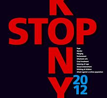 STOP KONY.2 2012 by Alex Preiss