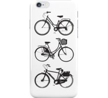 Three Bicycles iPhone Case/Skin