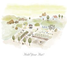 Hold Your Hat! (calendar version) by LittleCloudShop
