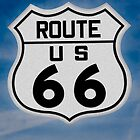 Route 66 sign by gwarn