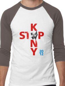 STOP KONY.3 2012 Men's Baseball ¾ T-Shirt