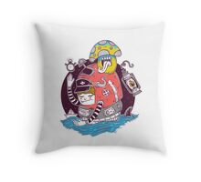 I'm just a kid Throw Pillow