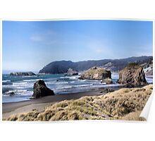 Oregon's Southern Coastline  Poster