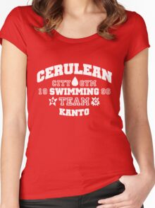 Cerulean Swimming Team Women's Fitted Scoop T-Shirt