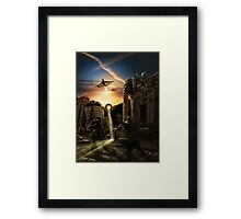 Not welcome Framed Print