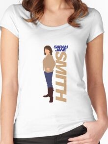 SMITH. Sarah Jane Smith Women's Fitted Scoop T-Shirt