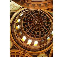 Capitol Dome (Helena, Montana) Photographic Print