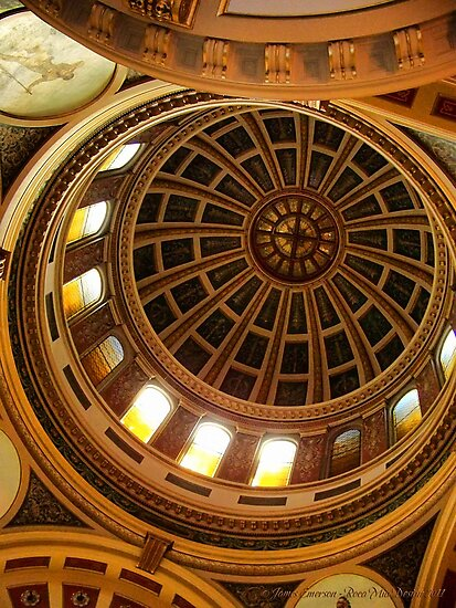 Capitol Dome (Helena, Montana) by rocamiadesign