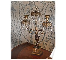 Beautiful Candle Lamp  Holder Poster