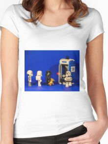 That awkward moment... Women's Fitted Scoop T-Shirt