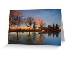 Cresting Sunlight Greeting Card