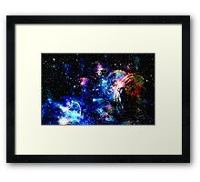 Space Bubble Framed Print