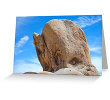 WHALE ROCK Greeting Card