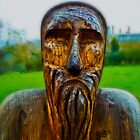 wooden man  by clayton  jordan