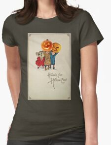 Kids With Decorations (Vintage Halloween Card) T-Shirt