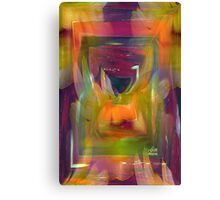 Abstract world of flowers Canvas Print
