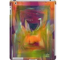 Abstract world of flowers iPad Case/Skin