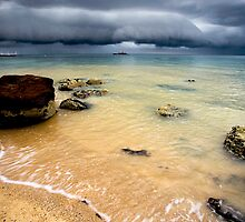 Storm Clouds on the Horizon by Stephanie Johnson