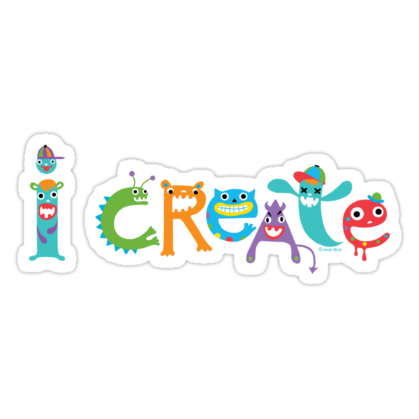 I Create Critters by Andi Bird