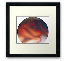 Keyhole View Framed Print