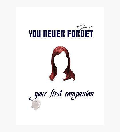 Your First Companion Photographic Print