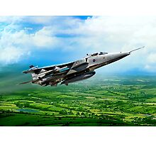 Royal Air Force Jaguar Photographic Print