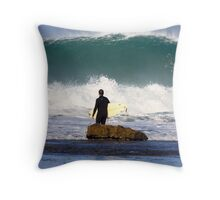 Winki Pop Wall Throw Pillow