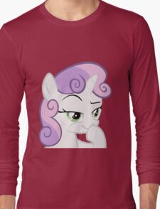 Sweetie Belle Devious Long Sleeve T-Shirt