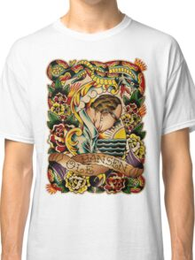 """Old Timers - Ole Hansen """"Tattoo Ole"""" Classic T-Shirt"""