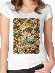 "Old Timers - Ole Hansen ""Tattoo Ole"" Women's Fitted Scoop T-Shirt"