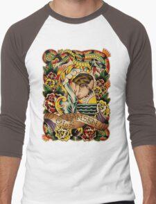 "Old Timers - Ole Hansen ""Tattoo Ole"" Men's Baseball ¾ T-Shirt"