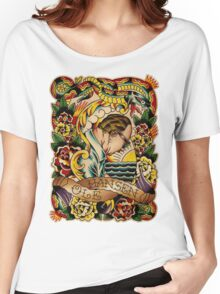 "Old Timers - Ole Hansen ""Tattoo Ole"" Women's Relaxed Fit T-Shirt"