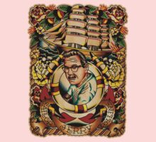 """Old Timers - Norman Collins """"Sailor Jerry"""" Kids Tee"""