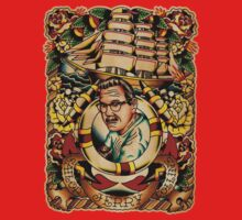"""Old Timers - Norman Collins """"Sailor Jerry"""" Baby Tee"""