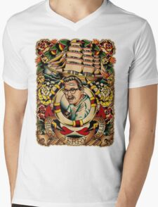 "Old Timers - Norman Collins ""Sailor Jerry"" Mens V-Neck T-Shirt"