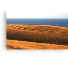 Bells Beach Hills Dusk Canvas Print