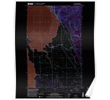 USGS Topo Map Washington State WA Bow 240182 1998 24000 Inverted Poster